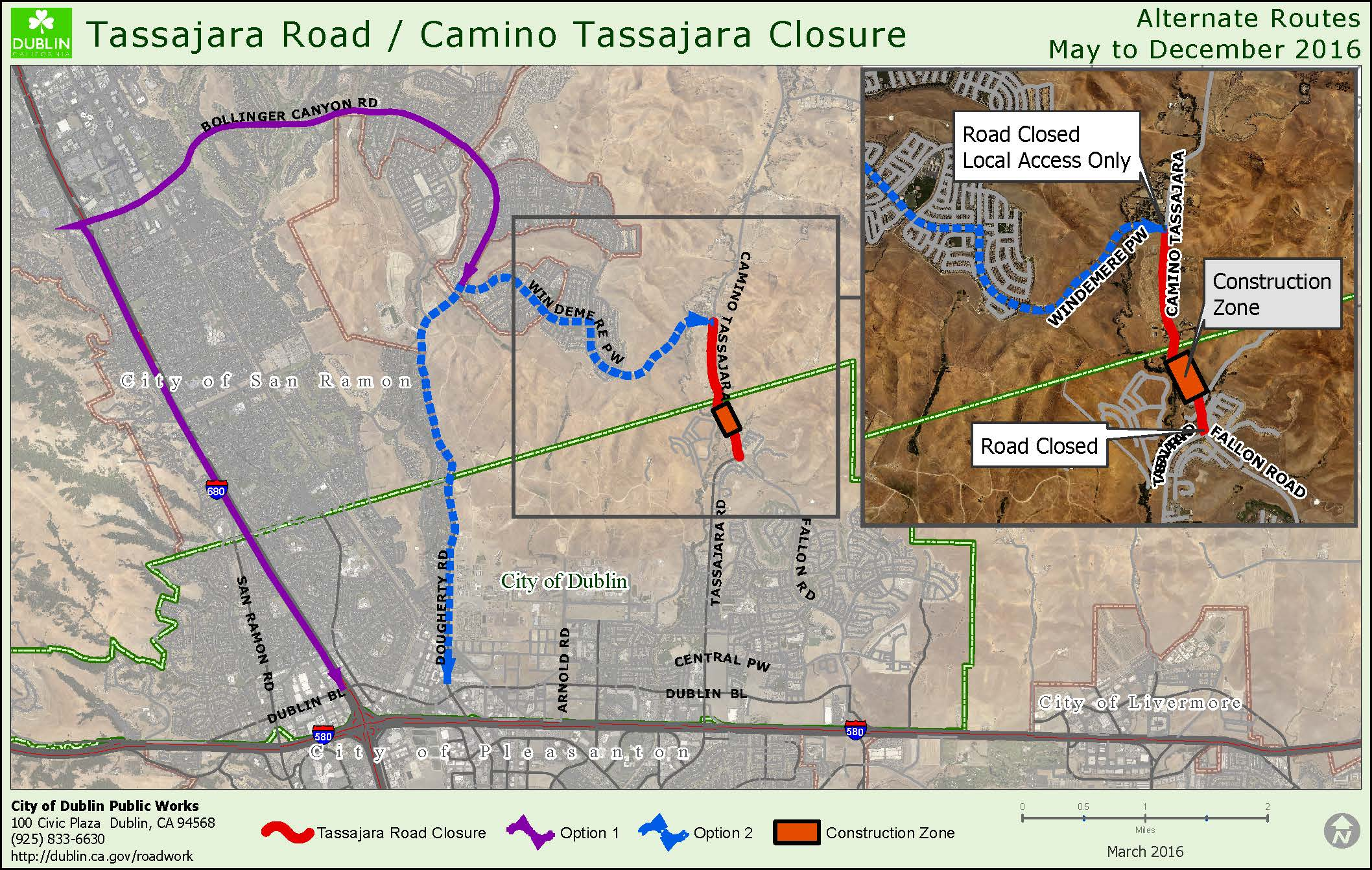 Tassajara Road Closure 8X10 20160226