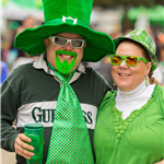 Green goatee with wide tie_H5B6145
