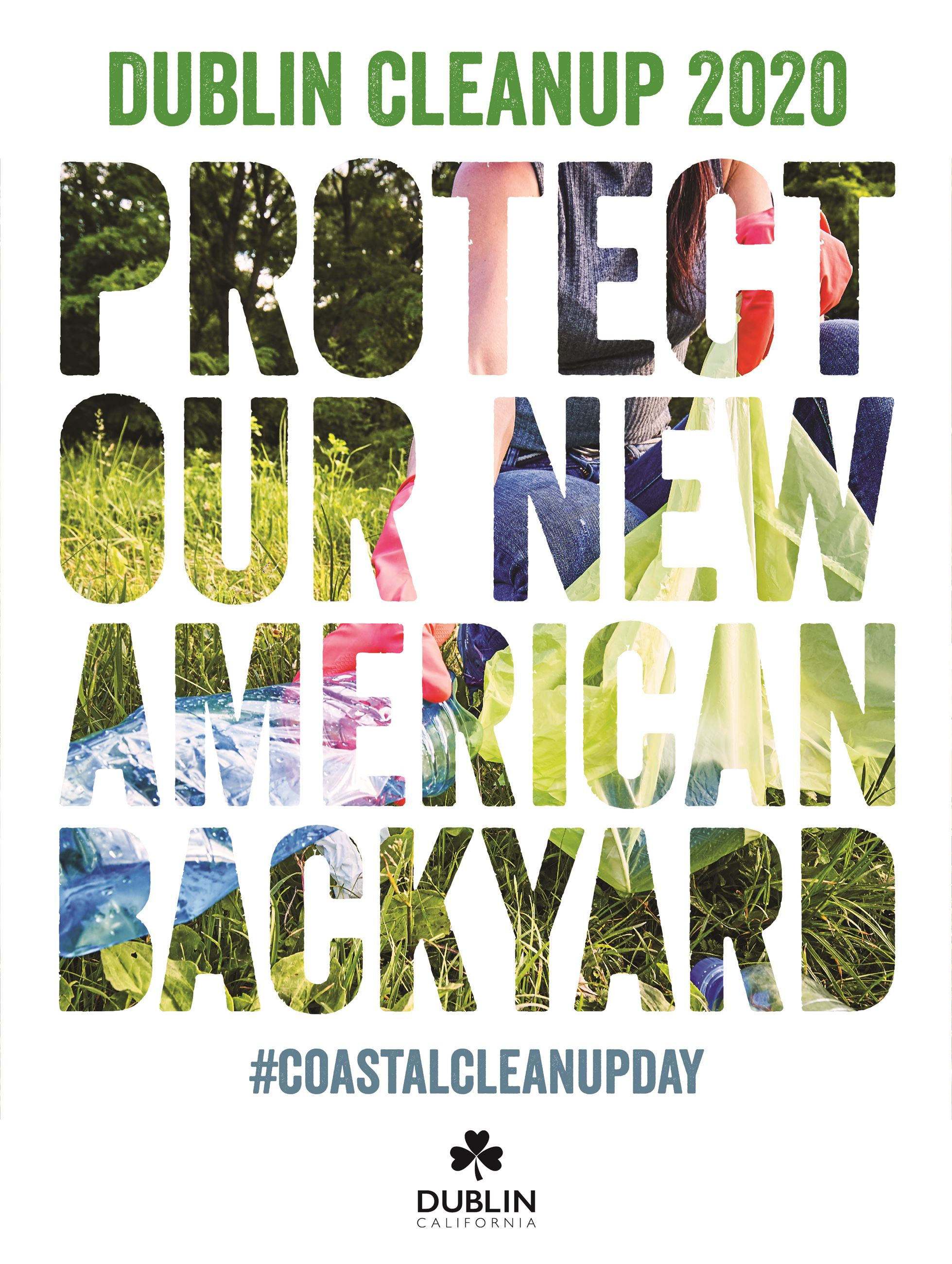 "2020 ""Protect Our New American Backyard"" Coastal Cleanup Poster"