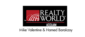Realty World, Mike Valentine and Hamed Barakzoy